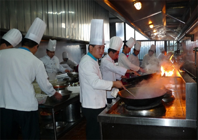 国内团膳市场化的后勤服务成为新兴的餐饮模式
